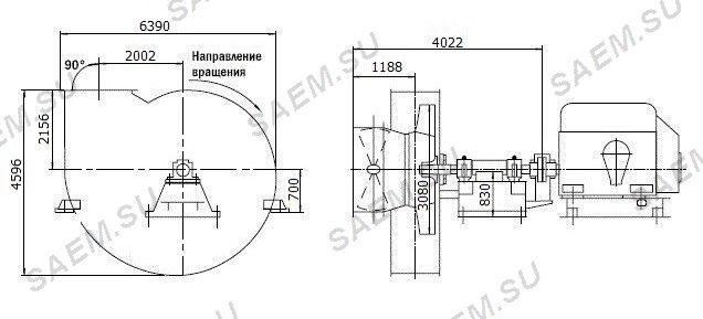 Схема дымососа ГД-31