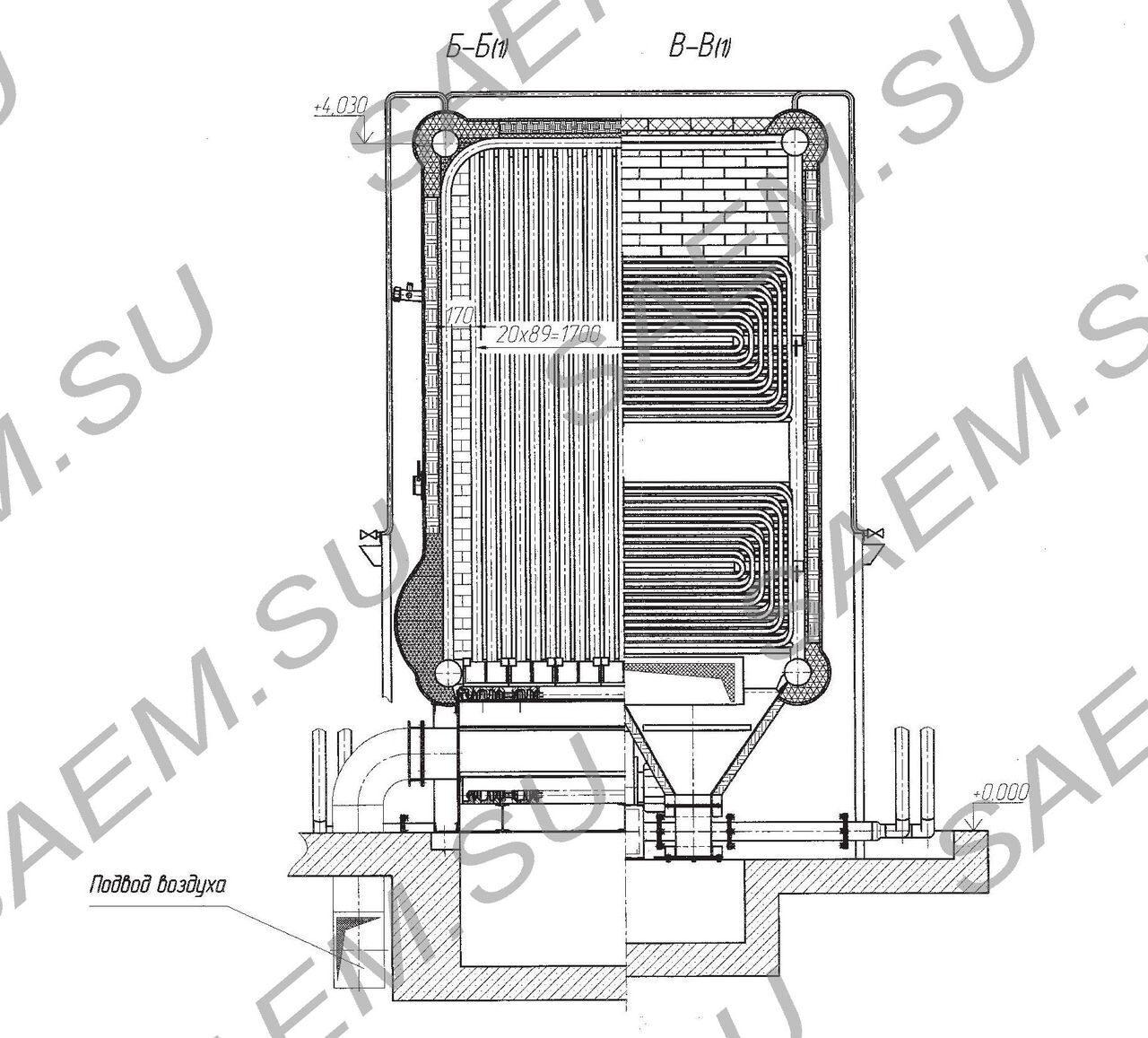 схема котла квгм-6,5-150