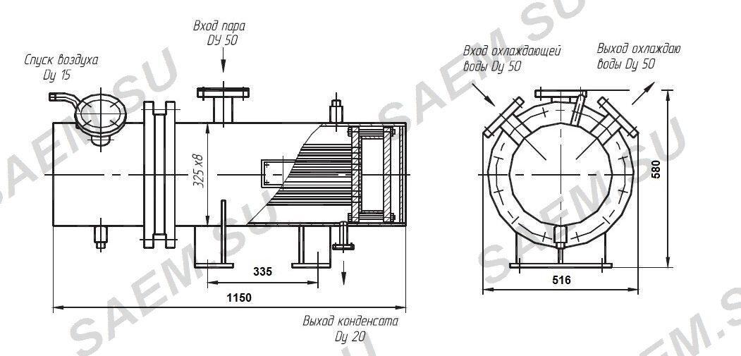 Водоводяной теплообменник пвд на 45 ати расписание бассейна теплообменник