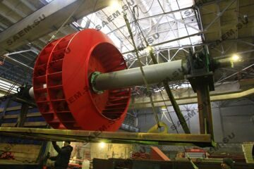 Ротора дымососа Д-20х2